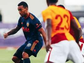 Los de Marcelino se impusieron por 1-2. Twitter/ValenciaCF