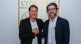 Rudi Garcia firma por el Olympique de Lyon hasta 2021. Twitter/OL