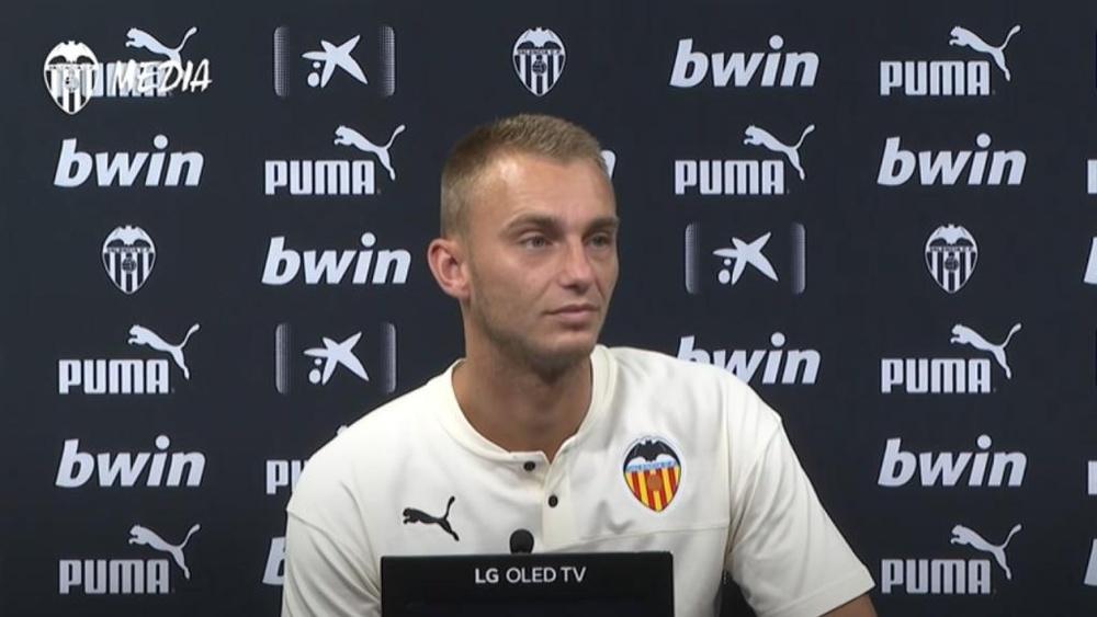 Cillessen no ha podido disfrutar de un año redondo en la portería. Captura/Valencia CF