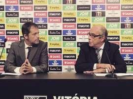 El conjunto luso recibirá la cesión de Víctor García. VitóriaSportClube