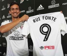 El portugués llegó al Fulham el pasado verano. FulhamFootballClub