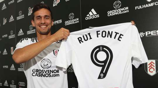 Fonte arrived at Craven Cottage on a three-year deal last summer. FulhamFootballClub