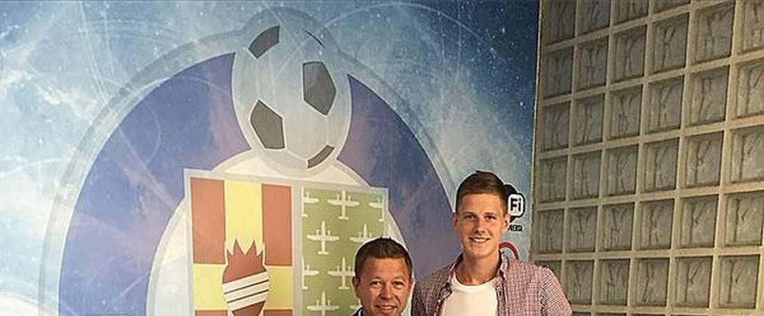 Rukas no jugará más con el Getafe, ya que se vuelve a Portugal (Sporting de Lisboa). Twitter