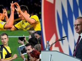 Fin al trasvase Dortmund-Múnich. EFE/AFP/BeSoccer