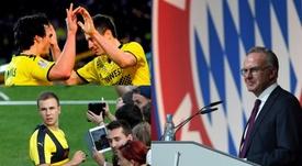 Plus d'entente entre les deux clubs. EFE/AFP