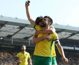 La primera parte en Carrow Road fue una auténtica locura en la que se vieron siete goles. Canaries