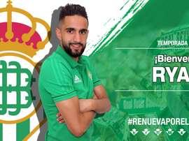 Boudebouz apresentado no Betis. Real Betis
