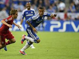 Bertrand playing for Chelsea in the 2012 Champions League final. AFP