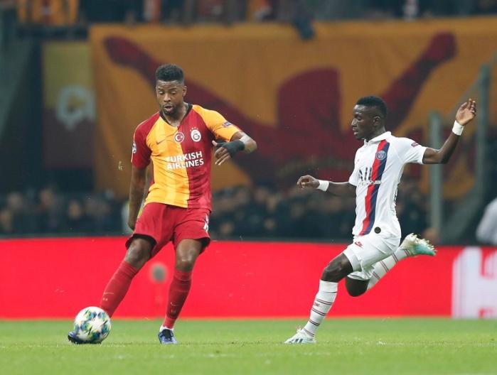PSG - Galatasaray: onzes iniciais confirmados. Twitter/GalatasaraySK
