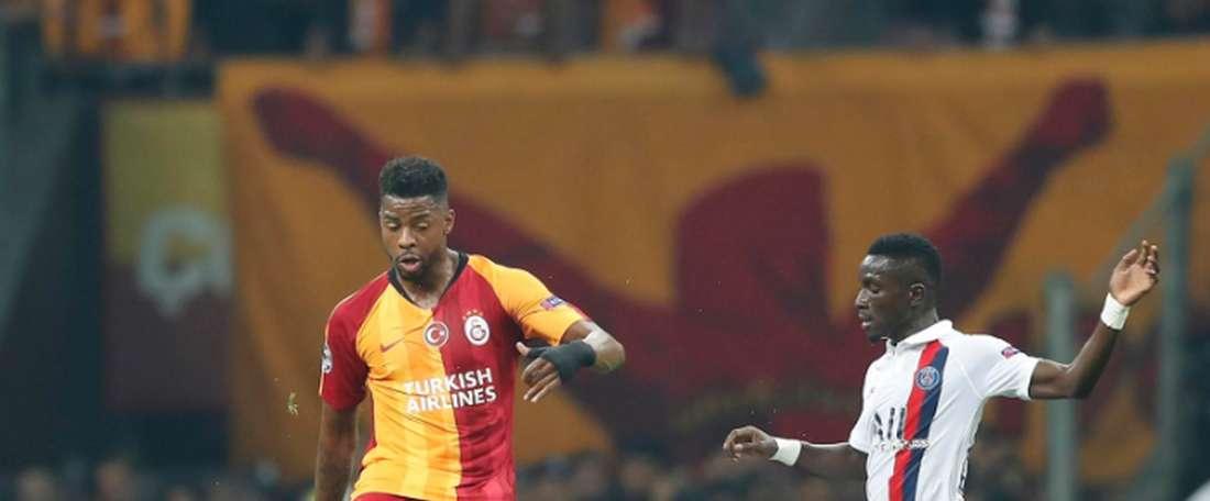 Donk ratera le derby pour raisons familiales. Twitter/GalatasaraySK