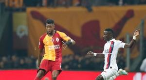 PSG volta da Turquia com 100% de aproveitamento. Twitter/GalatasaraySK
