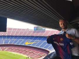 McLaughlin dice haber fichado por el Barcelona. Twitter/ Ryan McLaughlin