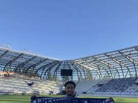 Ryan Sanusi rejoint Grenoble. Twitter/GF38