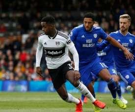 Tottenham will not let Ryan Sessegnon (L) go to Barcelona. AFP
