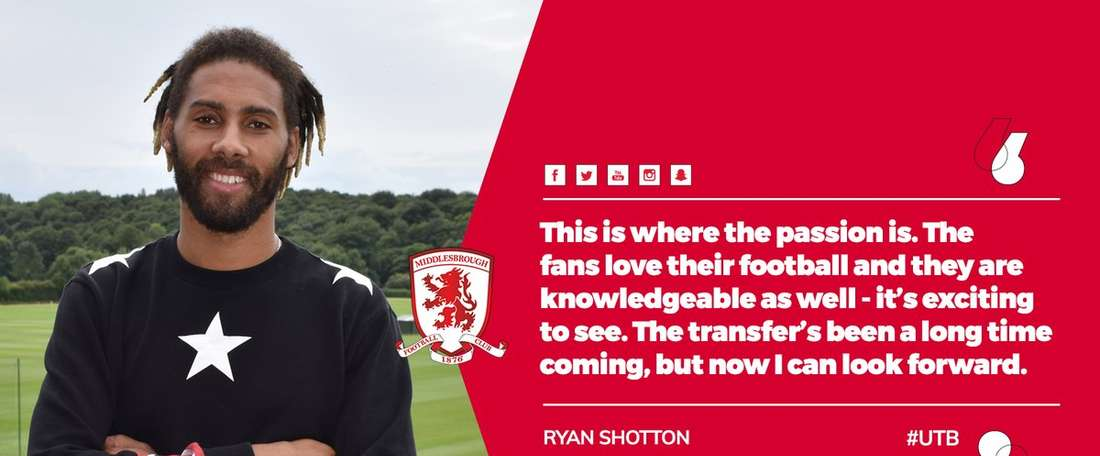 Last news R  Shotton (Middlesbrough) | BeSoccer