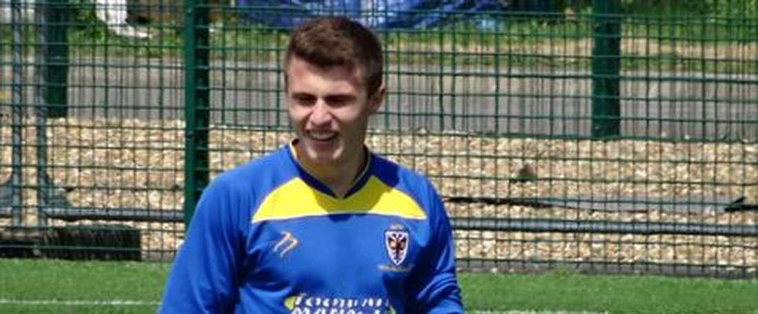 Ryan Sweeney jugará en el Stoke la próxima temporada. AFCWimbledon