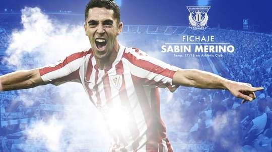 Sabin se va al Leganés. CDLeganes