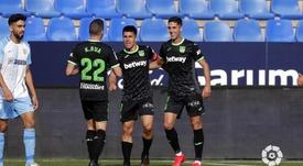 El Leganés venció en La Rosaleda. LaLiga