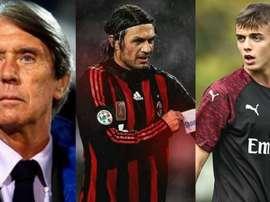 El Milan recupera su saga más sagrada: debutó el pequeño Maldini. EFE/AFP/Milan