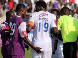 Said Nyosso imitó a Jara y agredió a Bocco en una discusión. Twitter.