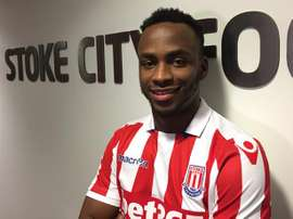 Berahino could leave the championship side. StokeCity