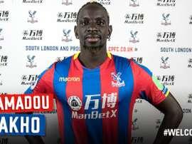 Sakho llega al Crystal Palace desde el Liverpool. Twitter/CrystalPalace