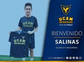 Salinas, nuevo jugador del UCAM Murcia. UCAM