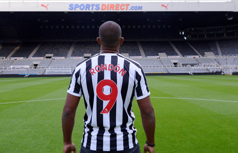 Official Salomon Rondon Joins Newcastle United On Loan From West