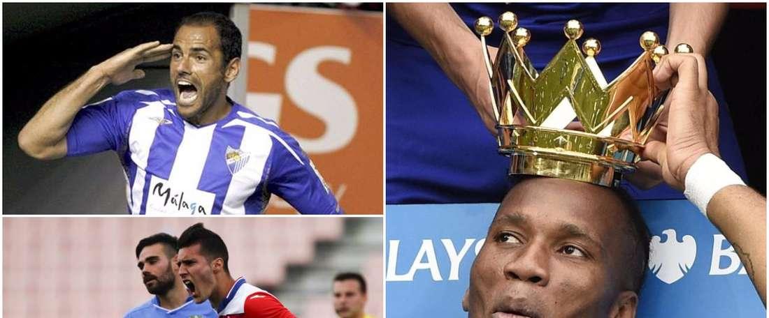 Salva, Drogba y Sergi Guardiola. BeSoccer
