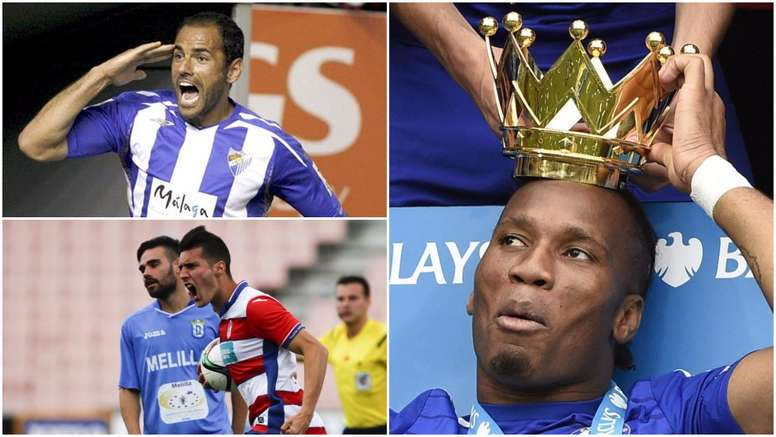 Silva, Drogba et Sergi Guardiola. BeSoccer