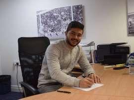 Sam Morsy ha extendido su contrato con el Wigan hasta el 30 de junio de 2019. Latics