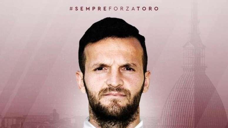 Ujkani (pictured) and Verdi are now Torino players. TorinoFC