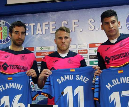 Getafe have insisted that Saiz has not been arrested. EFE