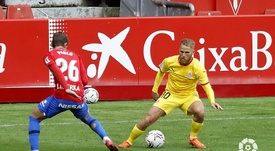 El Sporting derrotó al Girona. LaLiga