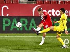 El Málaga derrotó al Girona. LaLiga