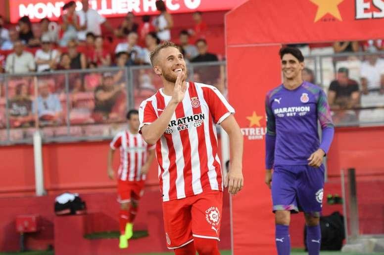 Samu Sáiz tiene claro su objetivo. GironaFC