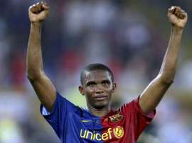 Samuel Eto'o spoke about his experience with the two coaches. EFE