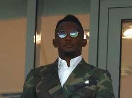 Le camerounais veut entraîner et gagner. Twitter