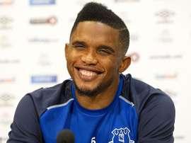Samuel Eto'o vai jogar no Konyasport. EFE