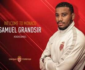 Grandsir signe à Monaco. Twitter/AS_Monaco