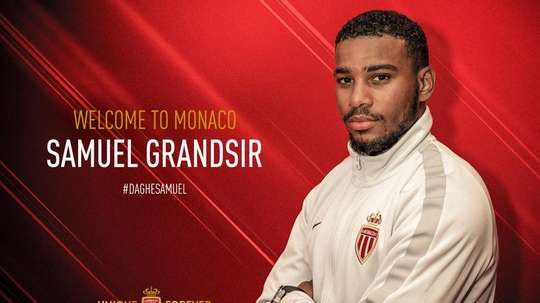 Monaco completed the signing of the youngster. Twitter/ASMonaco
