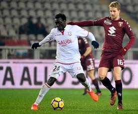 Gustafson jugará la próxima campaña en el Verona. Twitter/TorinoFC_1906