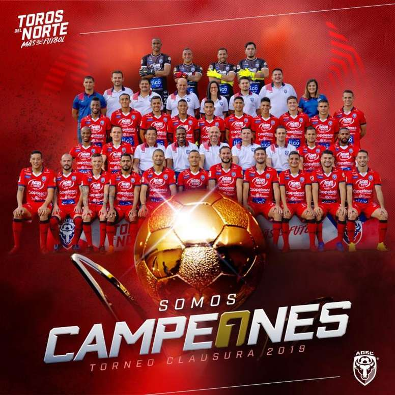 San Carlos confirma la sorpresa y se proclama campeón de Costa Rica. ADSanCarlos