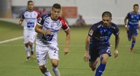 San Carlos y Saprissa firma las tablas en la ida de la final. Twitter/ADSanCarlos
