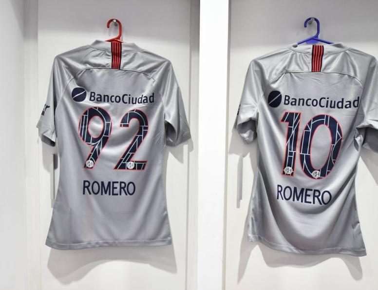 San Lorenzo dio a conocer los dorsales de Óscar y Ángel Romero. Twitter/SanLorenzo