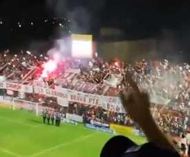 San Martín de Tucumán no pudo despedirse de la Superliga con victoria. Twitter/lalaladron
