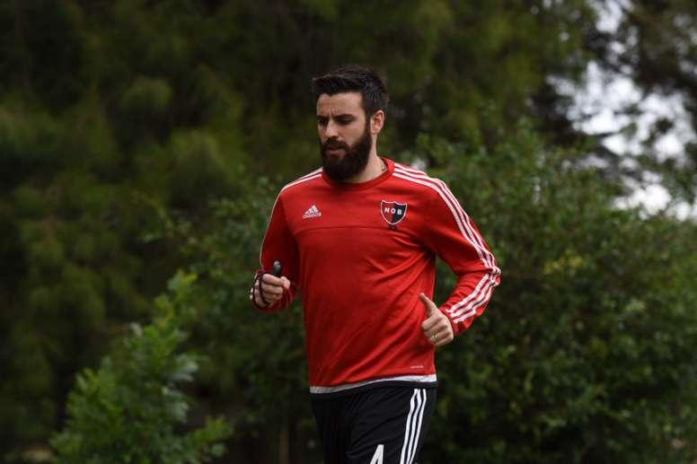 José San Román ya entrena con su nuevo equipo. Twitter