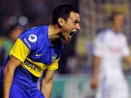 Sánchez Miño, en una imagen durante su paso por Boca Juniors. Twitter