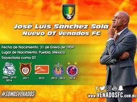 Sánchez Solá llega a Venados. VenadosFC