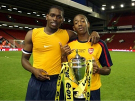 Sanchez Watt as a kid at Arsenal. Twitter